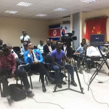 4 Cross section of audience at the press briefing (1)