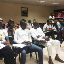 4 Cross section of audience at the press briefing (3)