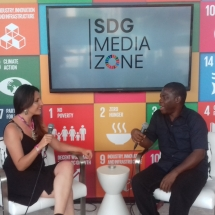At SDG Media Zone for UN Solutions Summit (3)