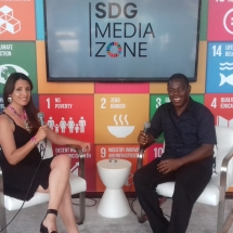At SDG Media Zone for UN Solutions Summit (6)