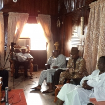 Pix 1 Meeting with Dr Samuel Ogbemudia
